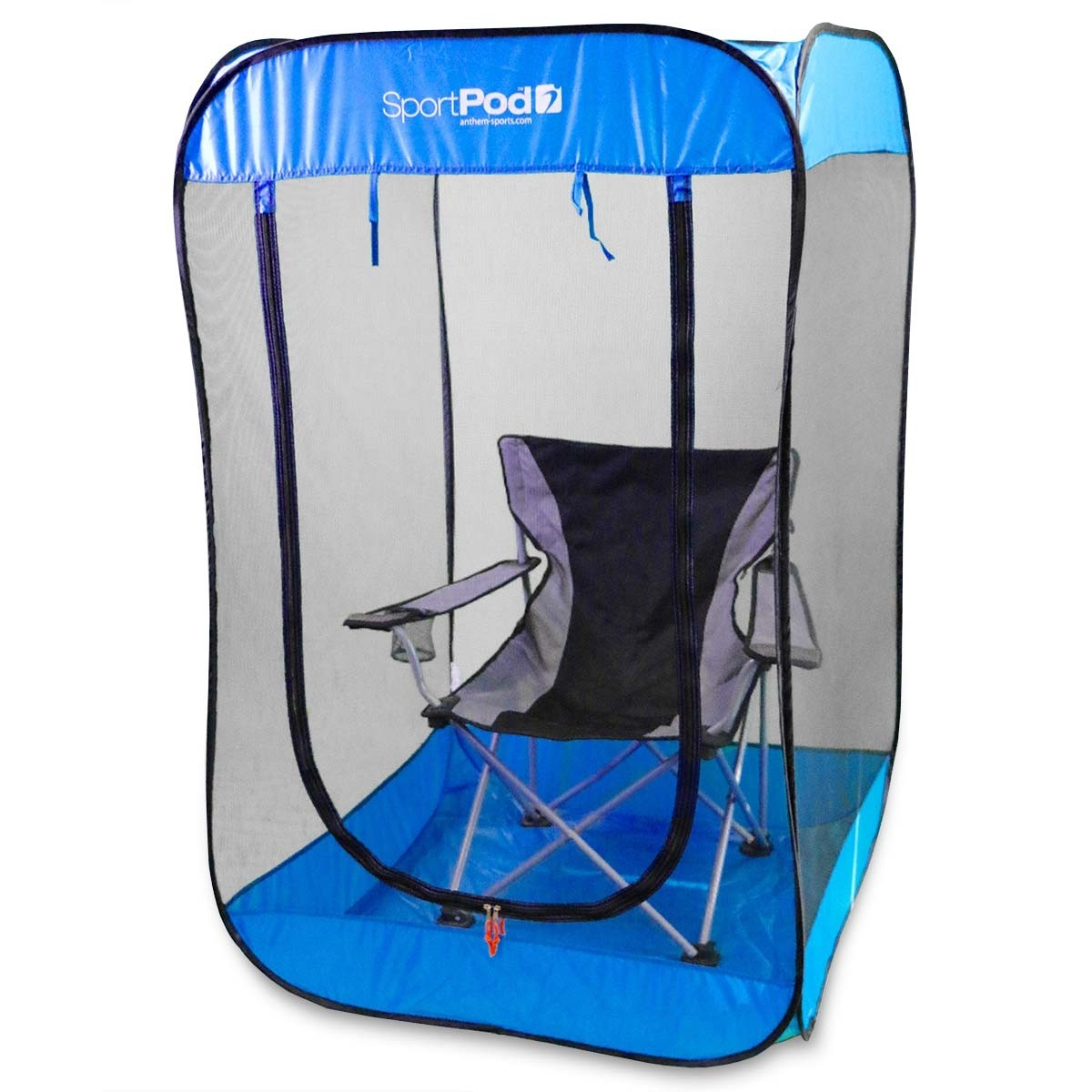 CHAIR NOT INCLUDED ...  sc 1 st  Anthem Sports & BugPod™ UnderCover™ SportPod™ Pop Up Insect Screen Tent