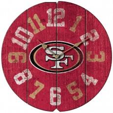 San Francisco 49ers Vintage Round Clock