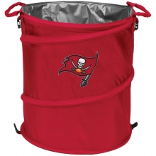 Tampa Bay Buccaneers NFL Collapsible 3-in-1 Hamper/Cooler/Trashcan