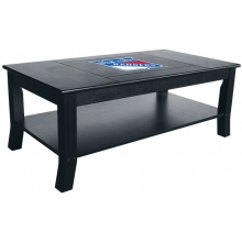 New York Rangers NHL Hardwood Coffee Table