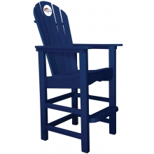 Denver Broncos NFL Outdoor Pub Captains Chair, NAVY
