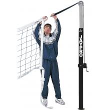 Jaypro Flex Net Official Volleyball Net w/ Adapter Cords, PVBN-6AK