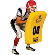 Fisher Jumbo Curved Football Blocking Body Shield, 10003