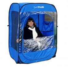 SoloPod™ UnderCover™ All Weather SportPod™ Pop Up Chair Tent