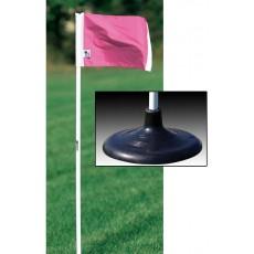 Kwik Goal set/4 Pink Premier Soccer Corner Flags, 6B1420