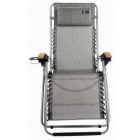 TravelChair Lounge Lizard Folding Chair, Salt & Pepper