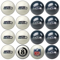 Seattle Seahawks NFL Home vs Away Billiard Ball Set