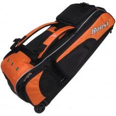 Diamond Boost Wheeled Baseball/Softball Equipment Bag, DZL iX3 BOOST, 35''L x 13''W x 12''H