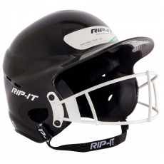 Rip-It YOUTH Fastpitch Softball Batting Helmet w/Mask, VISY