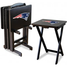 New England Patriots NFL TV Snack Tray/Table Set