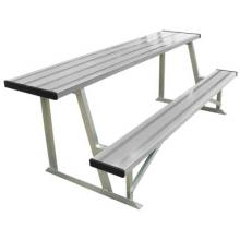 Portable Outdoor Aluminum Scorer's Table & Bench