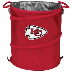 Kansas City Chiefs NFL Collapsible 3-in-1 Hamper/Cooler/Trashcan