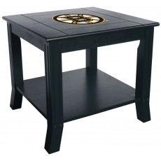 Boston Bruins NHL Hardwood Side/End Table