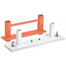 Schutt Dual Stanchion Removable Pitching Rubber, ADULT