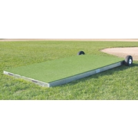 "Promounds MP2035 Collegiate Portable Batting Practice Pitching Platform, 7'L x 3'W x 6-10""H"