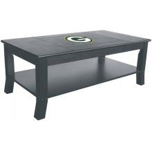 Green Bay Packers NFL Hardwood Coffee Table