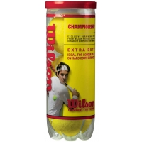 Wilson WRT1001 Extra Duty Championship Tennis Balls, case of 72