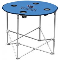 Tennessee Titans NFL Pop-Up/Folding Round Table