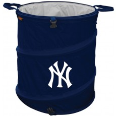 New York Yankees MLB Collapsible 3-in-1 Hamper/Cooler/Trashcan