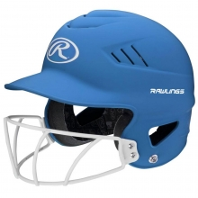 Rawlings Coolflo Fastpitch Highlighter Softball Batting Helmet, RCFHLFG