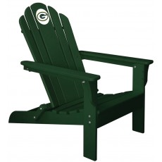 Green Bay Packers NFL Folding Adirondack Chair, GREEN