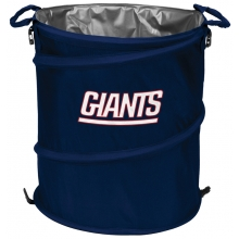 New York Giants NFL Collapsible 3-in-1 Hamper/Cooler/Trashcan