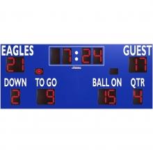 Sportable Scoreboards 7420 Football Scoreboard, 20'W x 8'H