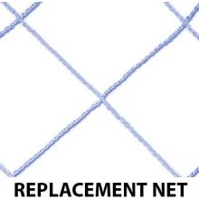 Funnets PVC Goal REPLACEMENT NET, 6' x 8' x 0' x 2'
