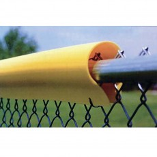 "12/pk 7'L Light, .05"" Baseball/Softball Fence Guard Protectors"