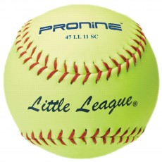 """Pro Nine 47 LL 11 SC Little League Synthetic Fastpitch Softball, 11"""""""