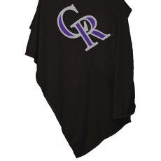 Colorado Rockies Sweatshirt Blanket