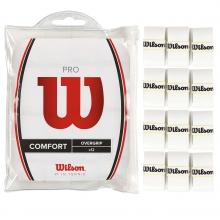 Wilson 12pk Pro Comfort Tennis Overgrip, White
