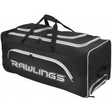 "Rawlings Wheeled Catcher's Equipment Bag, YADIWCB, 37"" x 14"" x 14"""