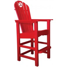 St. Louis Cardinals NFL Outdoor Pub Captains Chair, RED