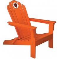 Chicago Bears NFL Folding Adirondack Chair, ORANGE