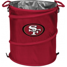 San Francisco 49ers NFL Collapsible 3-in-1 Hamper/Cooler/Trashcan