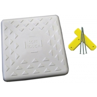 "Soft Touch S15 15"" Spike-Down Base w/ Tee & Spikes"