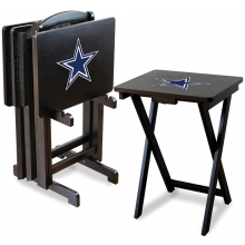 Dallas Cowboys NFL TV Snack Tray/Table Set