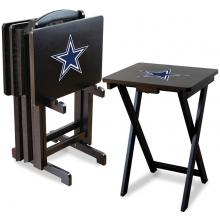 Dallas Cowboys NFL TV Snack Tray/Table Set
