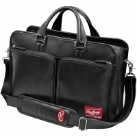 Rawlings Black Leather Coach's Briefcase