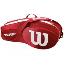 Wilson Team III 3 Pack Red Tennis Bag