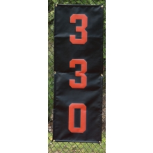 Vertical Baseball/Softball Distance Marker
