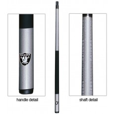Oakland Raiders NFL Billiards Cue Stick