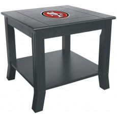 San Francisco 49ers NFL Hardwood Side/End Table