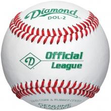 Diamond DOL-2 Official League Practice Baseball, dz
