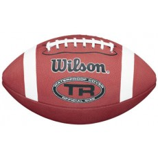 Wilson TR Waterproof Rubber Football, JUNIOR
