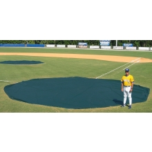 Aer-Flo 3426, 26' diam. Wind Weighted Mound/Homebase Tarp, 111 lbs