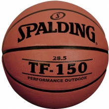 Spalding TF-150 28.5 Women's/Youth Rubber Basketball