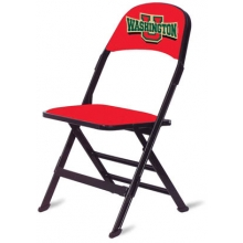 "Clarin Basketball Folding Sideline Chair w/ 1"" Cushion, 2 COLOR"