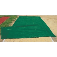 PitSaver Weighted VINYL Jump Pit Cover, 12' x 32'